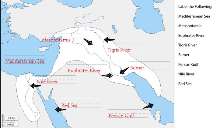 CC Fertile Crescent Answer Key